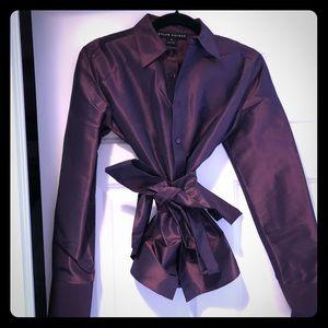 Authentic Ralph Lauren 100% Silk blouse